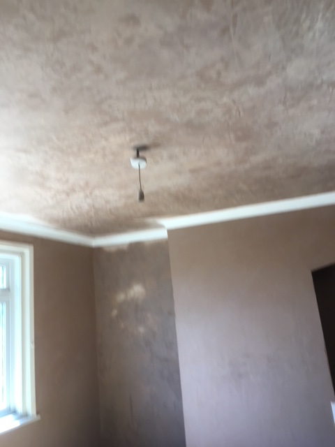 Plastering over Artex in Portswood, Southampton